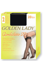 SHEER KNEE-HIGHS  GOLDEN LADY<br> GAMBALETTO 20 :
